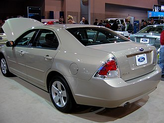 Ford Fusion (Americas) - Ford Fusion (US; pre-facelift)