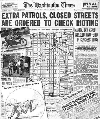 Washington race riot of 1919 - Wikipedia