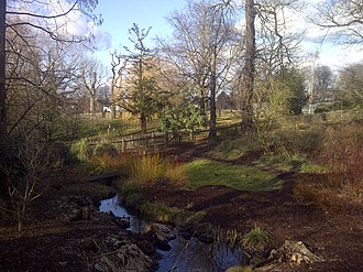 Golders Green - Water Garden in Golders Hill Park