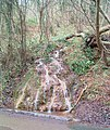 Waterfall in Westfield Wood - geograph.org.uk - 684588.jpg