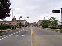 Main Street in downtown Watertown