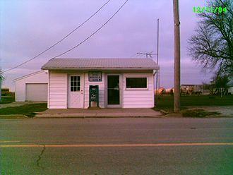Webster, Iowa - Post Office in Webster closed in 2011