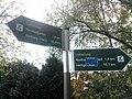 Wegweiser zwischen Nordhausen und Himmelgarten (Stolberg 19,6 km).jpg