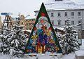 Weihnachtskalender in Stollberg beim Schneefall....jpg