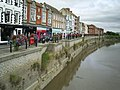 West Quay, Bridgwater from the old town bridge - geograph.org.uk - 1459534.jpg