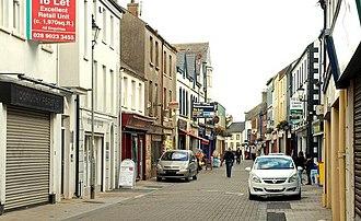 Carrickfergus - West Street on a quiet day.