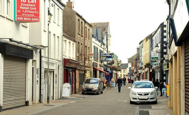 West Street, Carrickfergus (2) - geograph.org.uk - 1496873