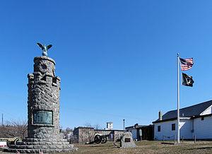 West Warwick, Rhode Island - War Memorial Park West Warwick