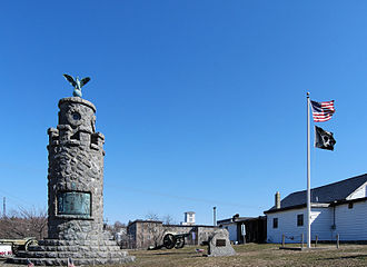 West Warwick, Rhode Island - War Memorial Park West Warwick