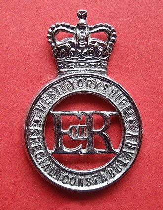 West Yorkshire Constabulary - Cap badge of the West Yorkshire Constabulary