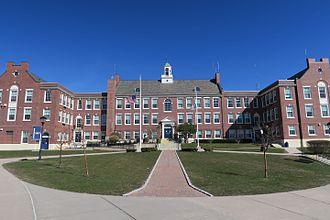 Westerly High School - Image: Westerly High School, Westerly RI