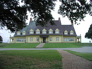 National Register of Historic Places listings in Currituck County, North Carolina - Image: Whalehead Club main building