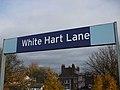 White Hart Lane stn platform signage.JPG