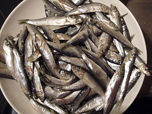 Whitebait - British whitebait are much larger than New Zealand whitebait