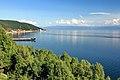 Widok na Listwiankę i jezioro Bajkał 01.JPG