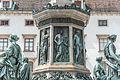 Wien, Hofburg, Innerer Burghof, Denkmal für Kaiser Franz I-20160625-008.jpg
