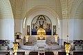 Wien - Otto-Wagner-Kirche am Steinhof - Altarraum Gesamtansicht.jpg