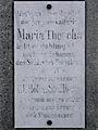 Wien - Steinhof - Tafel des Maria-Theresien-Denkmals.jpg