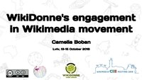 WikiDonne's engagement in Wikimedia movement, Leopoli, 13 ottobre 2018