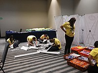 Wikimania 2015-Wednesday-Volunteers at Wikimania (2).jpg