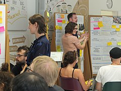 """Designing the future"": WMDE staff workshop impressions"