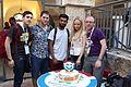 Wikimedia Hackathon Jerusalem Cake IMG 8762.JPG