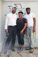 Wikimedians at a Lagos editathon.jpg