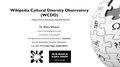 Wikipedia Cultural Diversity Observatory (WCDO) Presentation - August 2018.pdf