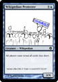 Wikipedian Protester MTG Card.png