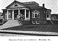 Wilder Library ca1899 Vermont.jpg