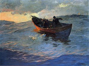 Willard Metcalf - On the Suffolk Coast, 1885