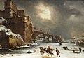 Willem Schellinks City Walls in Winter.jpg