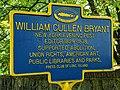 William Cullen Bryant historical marker.jpg