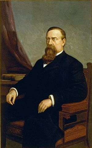 William Irwin (California politician) - Image: William Irwin painting