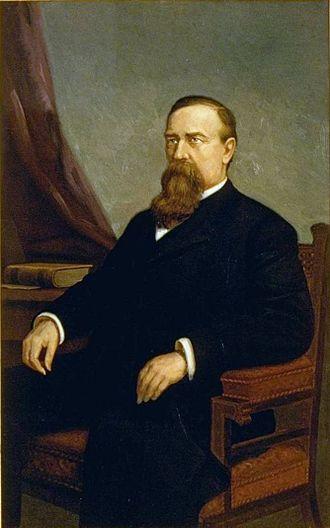 William Irwin (California politician) - Image: William Irwin painting