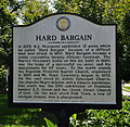 Williamson County Historical Society Marker for the Hard Bargin (McLemore House).JPG