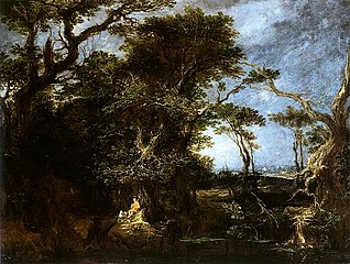 Landscape with St. John the Baptist.