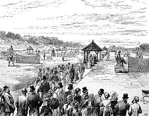 1877 Wimbledon Championship - Image: Wimbledon Championship 1877