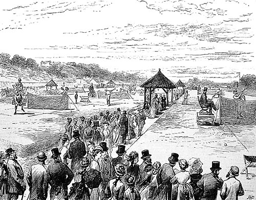Image result for Marylebone Cricket Club's 1875 Rules of Lawn Tennis
