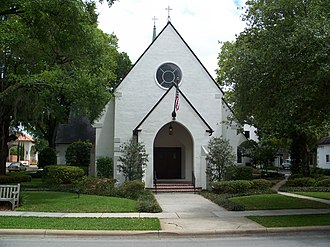 National Register of Historic Places listings in Orange County, Florida - Image: Winter Park All Saints Episcopal 01
