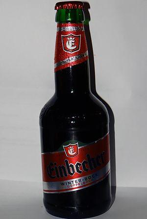 """Bock - Einbecker Winterbock in traditional """"Einbecker"""" bottle"""