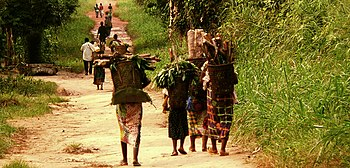 Women returning from their gardens Basankusu.jpg