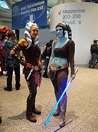 WonderCon 2011 - Ahsoka Tano and Aayla Secura costumes (5593343255).jpg