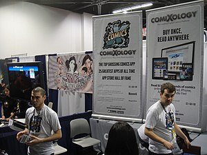 ComiXology - Image: Wonder Con 2012 Comi Xology booth (7019133891)