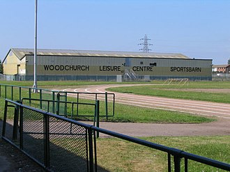 Woodchurch - The Woodchurch Sportsbarn, adjacent to the leisure centre, in 2006