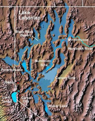 Lahontan Valley - The Lahontan Valley is adjacent to the Carson Sink and southwest of the Humboldt Sink.