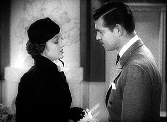 Myrna Loy - Myrna Loy and Clark Gable in Wife vs. Secretary, 1936
