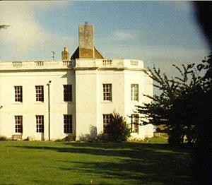Wyddial - Wyddial Hall from the churchyard.