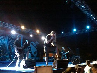 Xerath - Xerath play at SpringSpree in 2011 during a tour of India