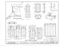 Ximenez-Fatio House, 22 Aviles Street, Saint Augustine, St. Johns County, FL HABS FL-116 (sheet 10 of 13).png